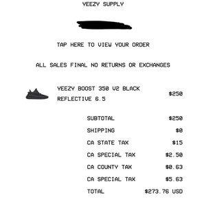 yeezy supply 350 v2 reflective